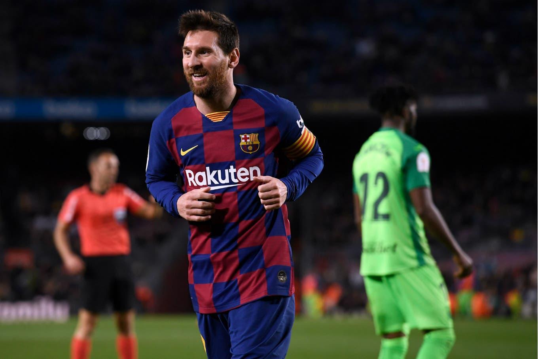 Barcelona goleó 5-0 a Leganés con dos gritos de Messi y se clasificó a cuartos de final de la Copa del Rey
