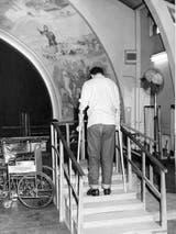 En 1956 se crearon centros especiales para la recuperación de la polio