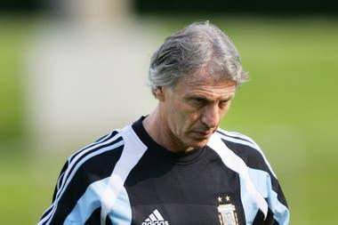En la mente de Pekerman, Gallardo podría haber jugado como enlace con Ibagaza en Qatar 1995, con Biagini y Guerrero por delante