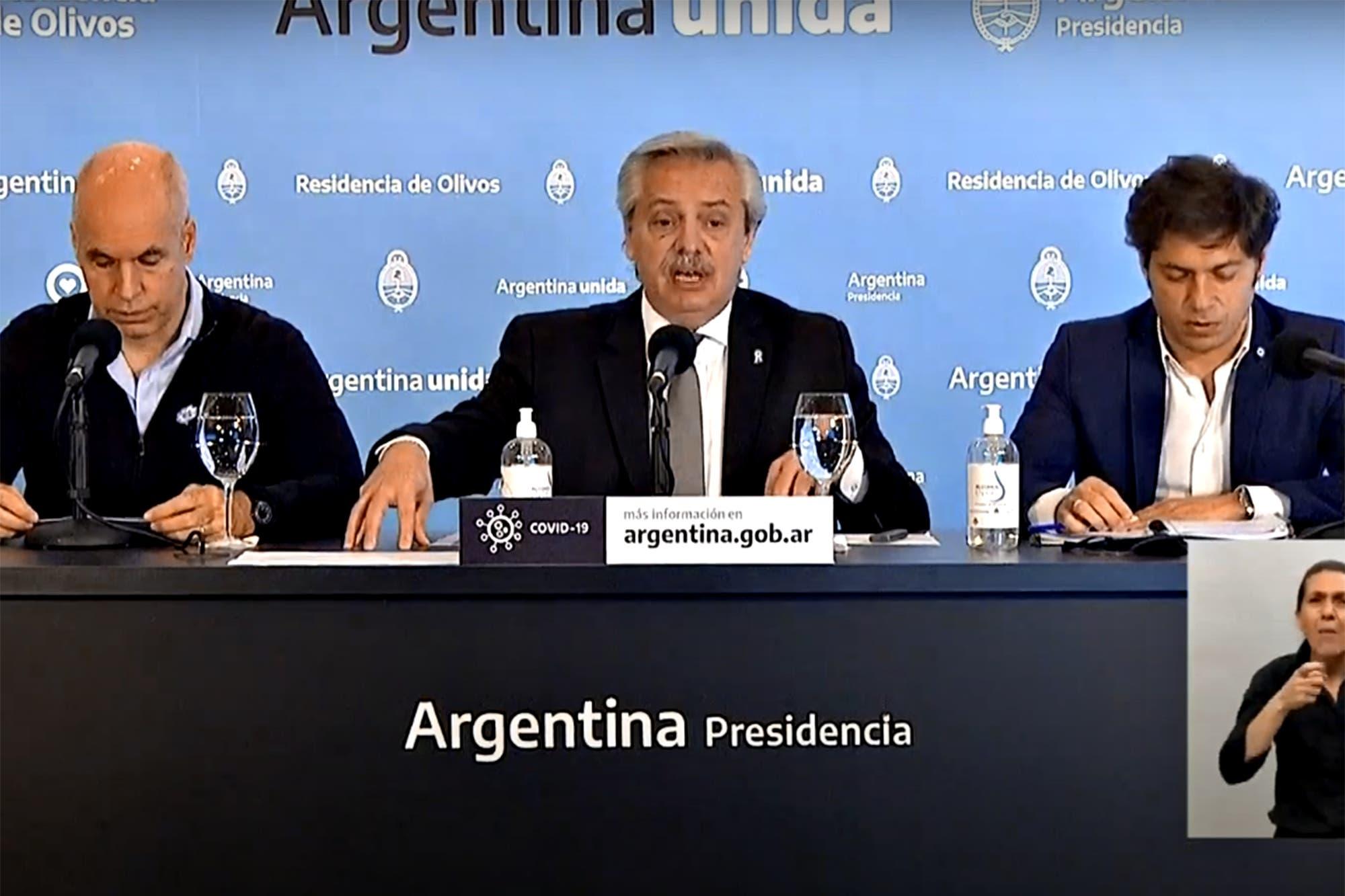Coronavirus en la Argentina: Alberto Fernández anunció la extensión de la cuarentena hasta el 7 de junio