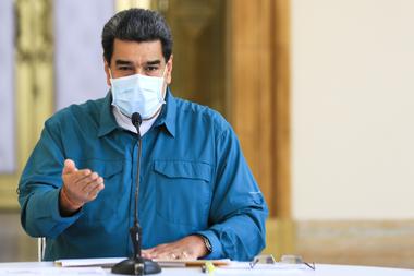 Nicolás Maduro. El país alcanzó su récord de casos, con mayoría en Caracas, en medio de una etapa de flexibilización de las restricciones