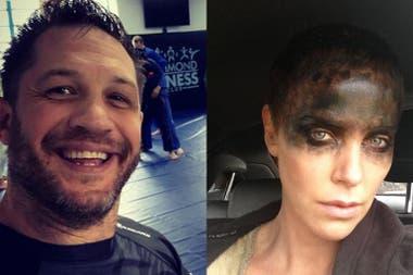 """Charlize Theron y Tom Hardy, igual que en el set: """"Nuestra relación era por supervivencia"""""""