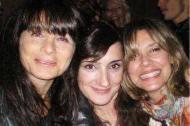 Una gran amistad: Mariana Briski, Jorgelina Azurri y María Carámbula