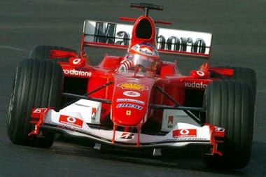 Con Ferrari, Barrichello logró nueve de sus 11 triunfos en Fórmula 1 y fue parte de los años dorados de la Scuderia, en el comienzo del nuevo milenio.