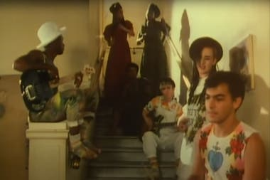 "Imagen del videoclip ""Do You Really Want to Hurt Me"", de Culture Club"