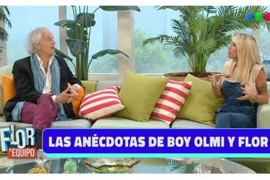 Florencia Peña y Boy Olmi recordaron muchas anécdotas de cuando grabaron juntos la versión argentina de La Niñera