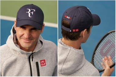 tambor apoyo Cortar  Impacto en el mercado del tenis: Roger Federer recuperó el histórico logo  'RF' y se empiezan a vender las gorras - LA NACION