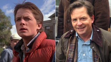 Michael J. Fox, como Marty McFly