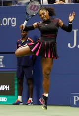 El baile de una Serena Williams ganadora