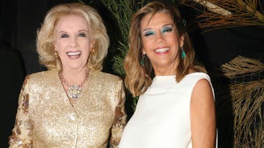 Mirtha Legrand y su hija