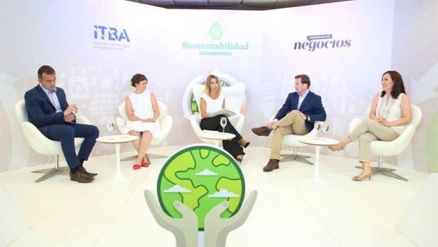 La primera edición del encuentro Sustentabilidad organizado por LA NACION.