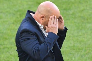 La preocupación de Sampaoli, tras el 1 a 1 con Islandia