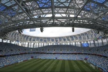 El Niznhy Novgorod Stadium, la cancha donde la Argentina jugará ante Croacia