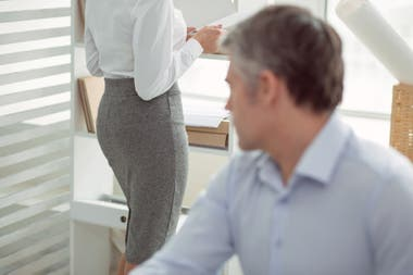 Mujeres abusadas sexualmente en el trabajo