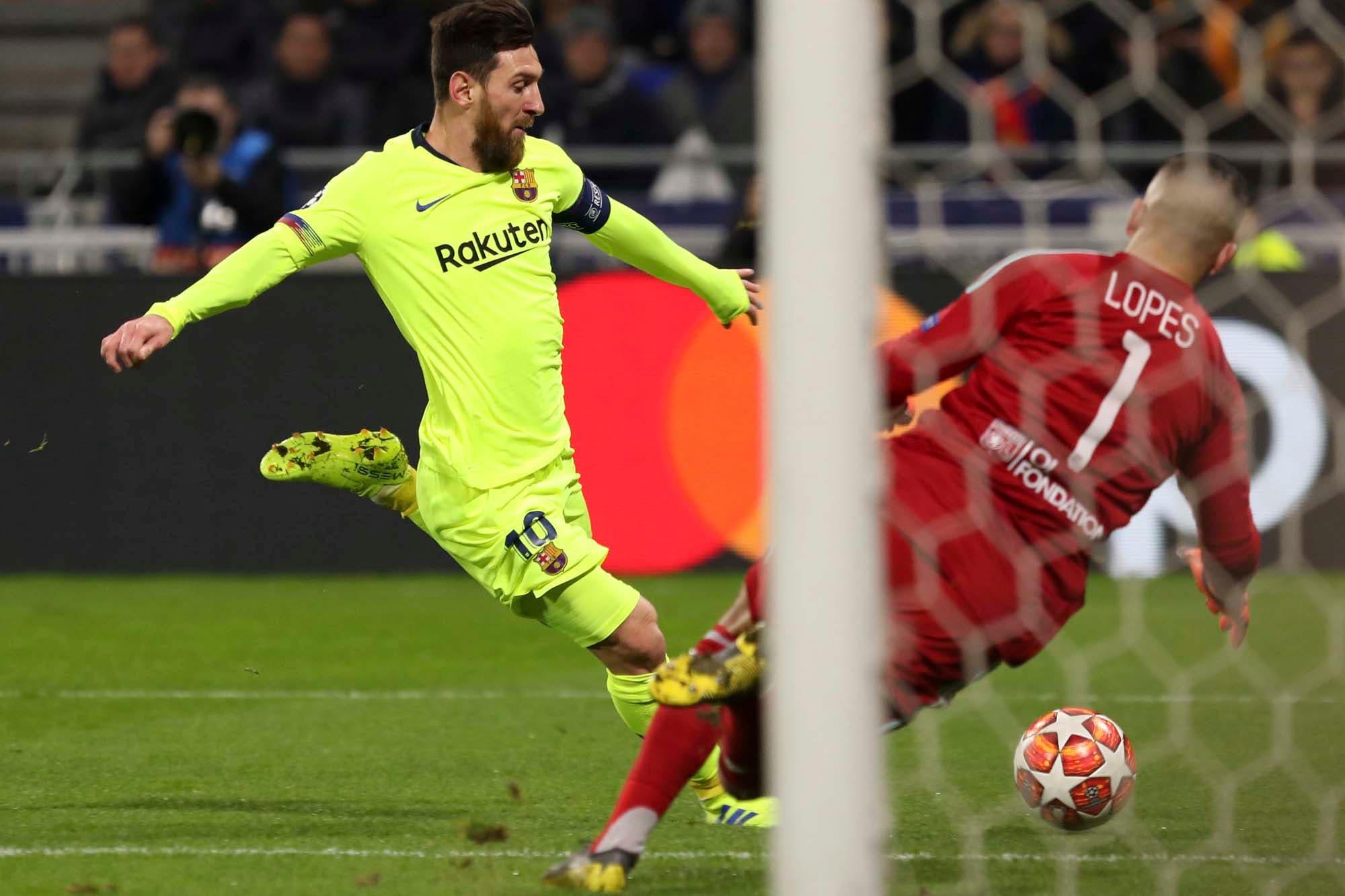 Lo mejor de Lyon-Barcelona por la Champions League y el show de los hinchas de Liverpool y Bayern Munich