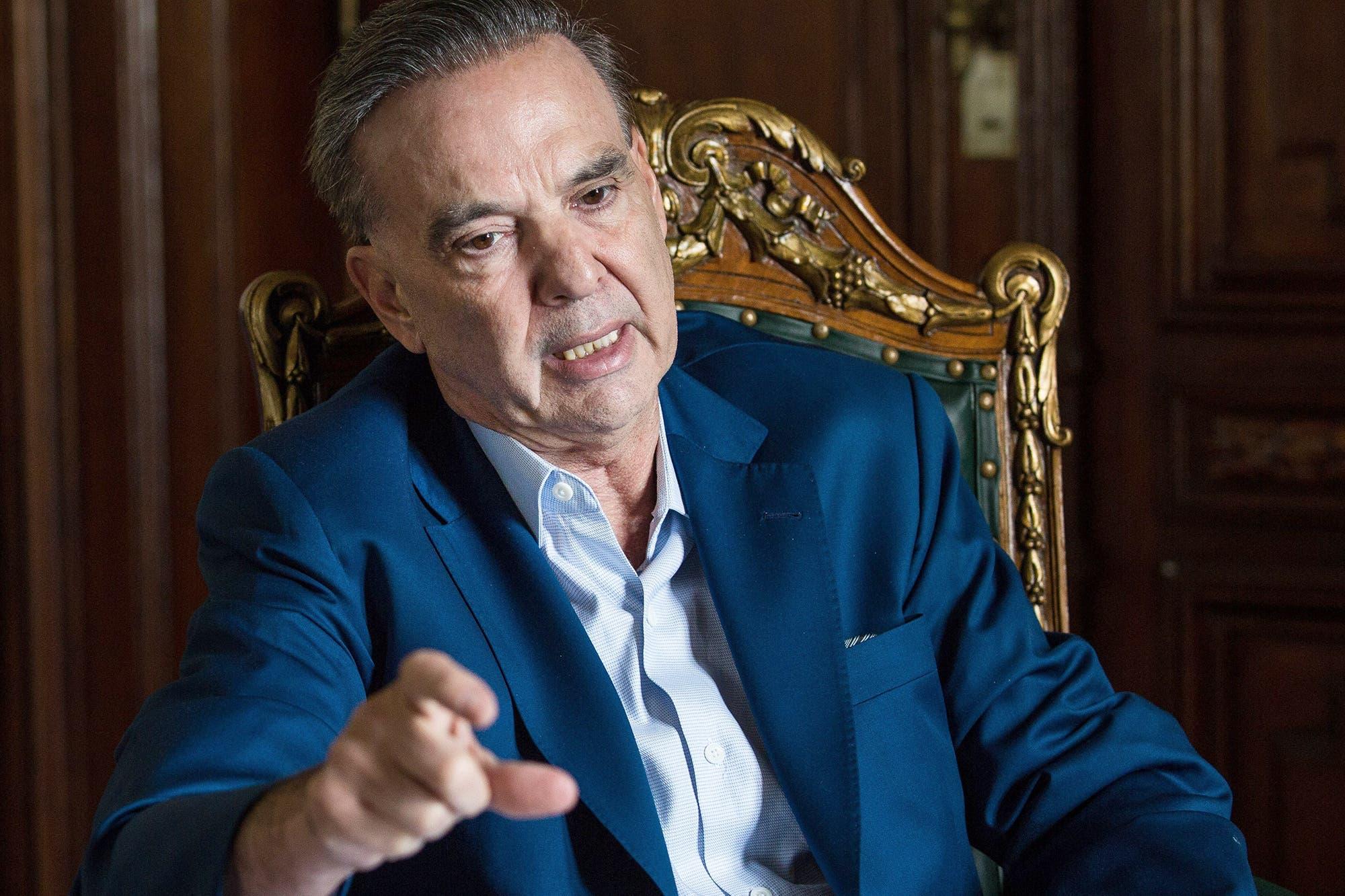 """Pichetto: """"En 2015 perdimos por el fracaso de Kicillof y los errores de Cristina"""""""