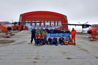 Los equipos de Lázaro Báez ya trabajan en la Antártida