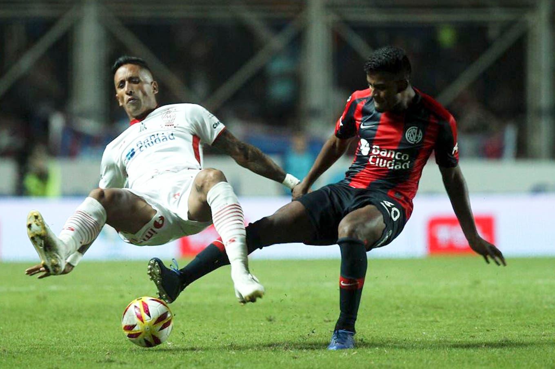 San Lorenzo-Huracán, en la Copa de la Superliga, demostraron por qué fueron de los peores en la Superliga