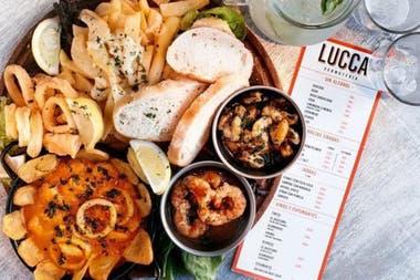 La premisa de Lucca es comida italiana casera con buenos tragos