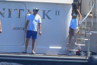 Leonardo DiCaprio y su novia Camila Morrone siguen disfrutando de su viaje de amor