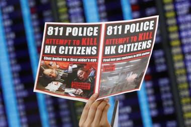 Desde junio los manifestantes repudian el control de China ejerce sobre ellos