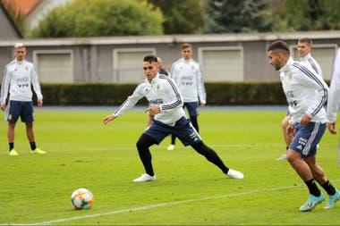 Argentina y Alemania en un duelo amistoso