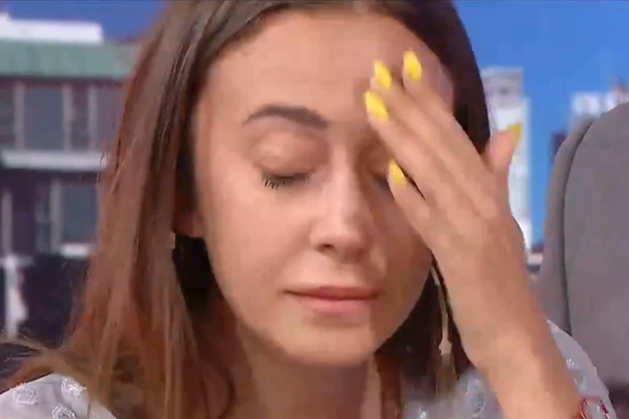 Nai Awada lloró al aire y el hijo de Alberto Fernández salió a defenderla