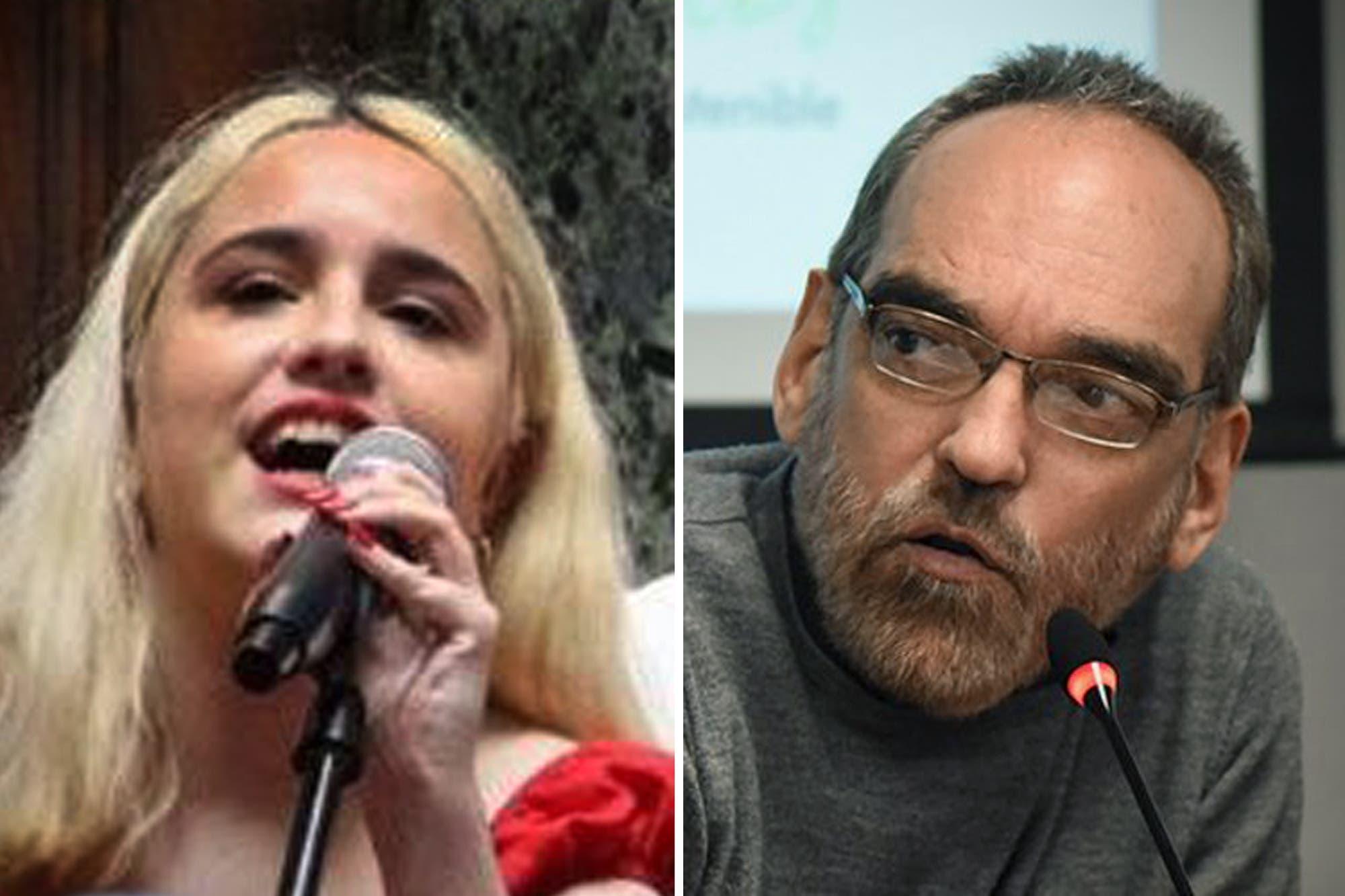 En las redes: Fernando Iglesias opinó sobre el pelo de Ofelia Fernández y fue duramente criticado