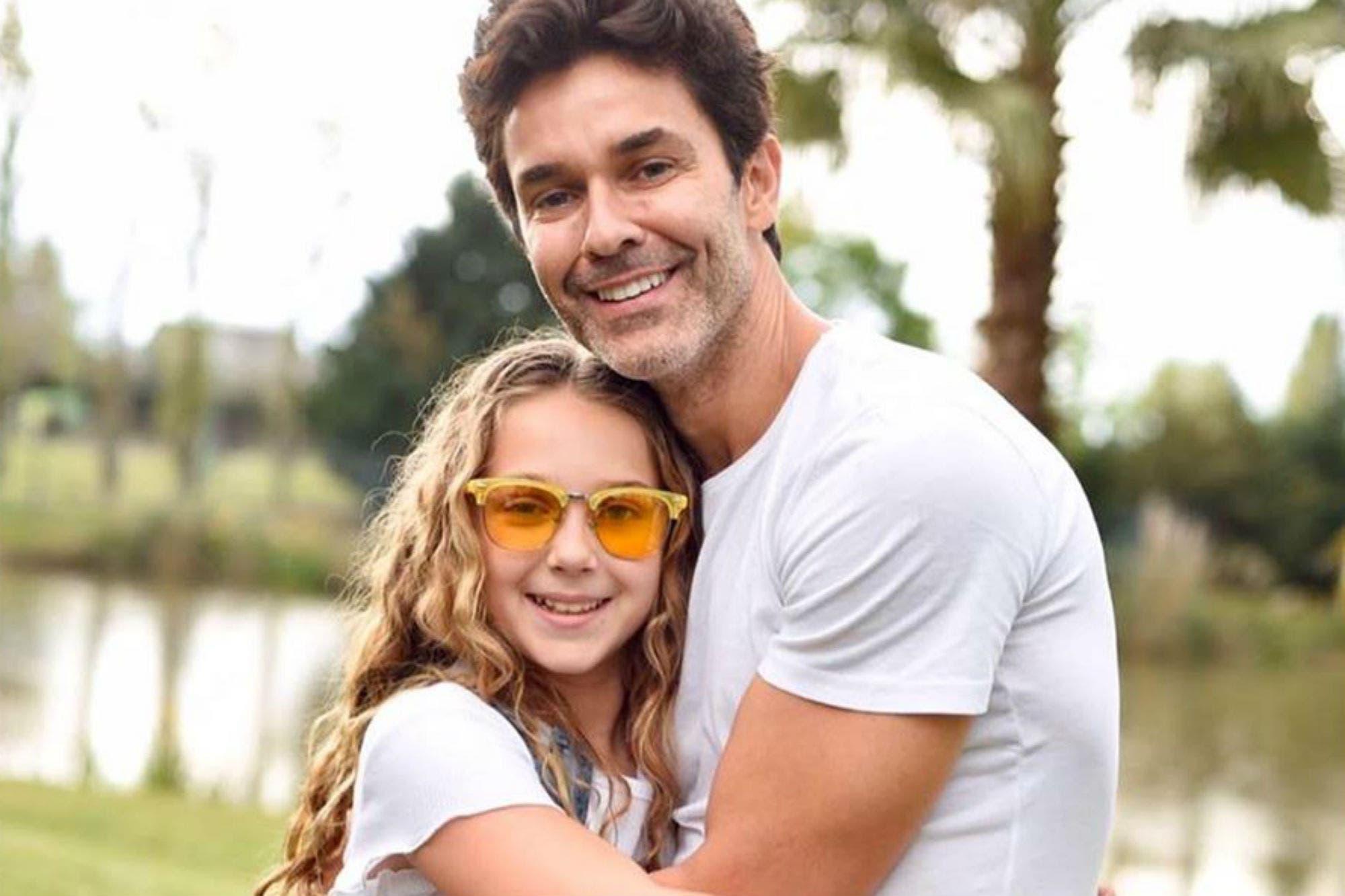 Olivia, la hija de Mariano Martinez, debutará en la TV junto a su papá