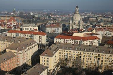 Dresde recuperó tras muchos años de reconstrucción su esplendor pasado