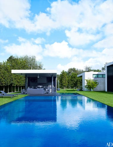La moderna residencia de Alex Rodriguez en Coral Gables