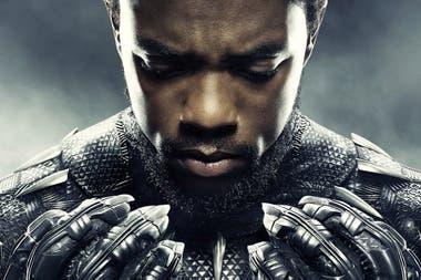 Chadwick Boseman en Pantera Negra
