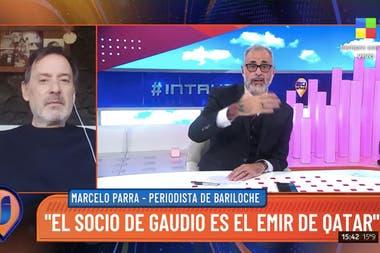 El conductor de TV criticó la forma en que el extenista, capitán del equipo argentino de la Copa Davis, adquirió el predio e Baguales.