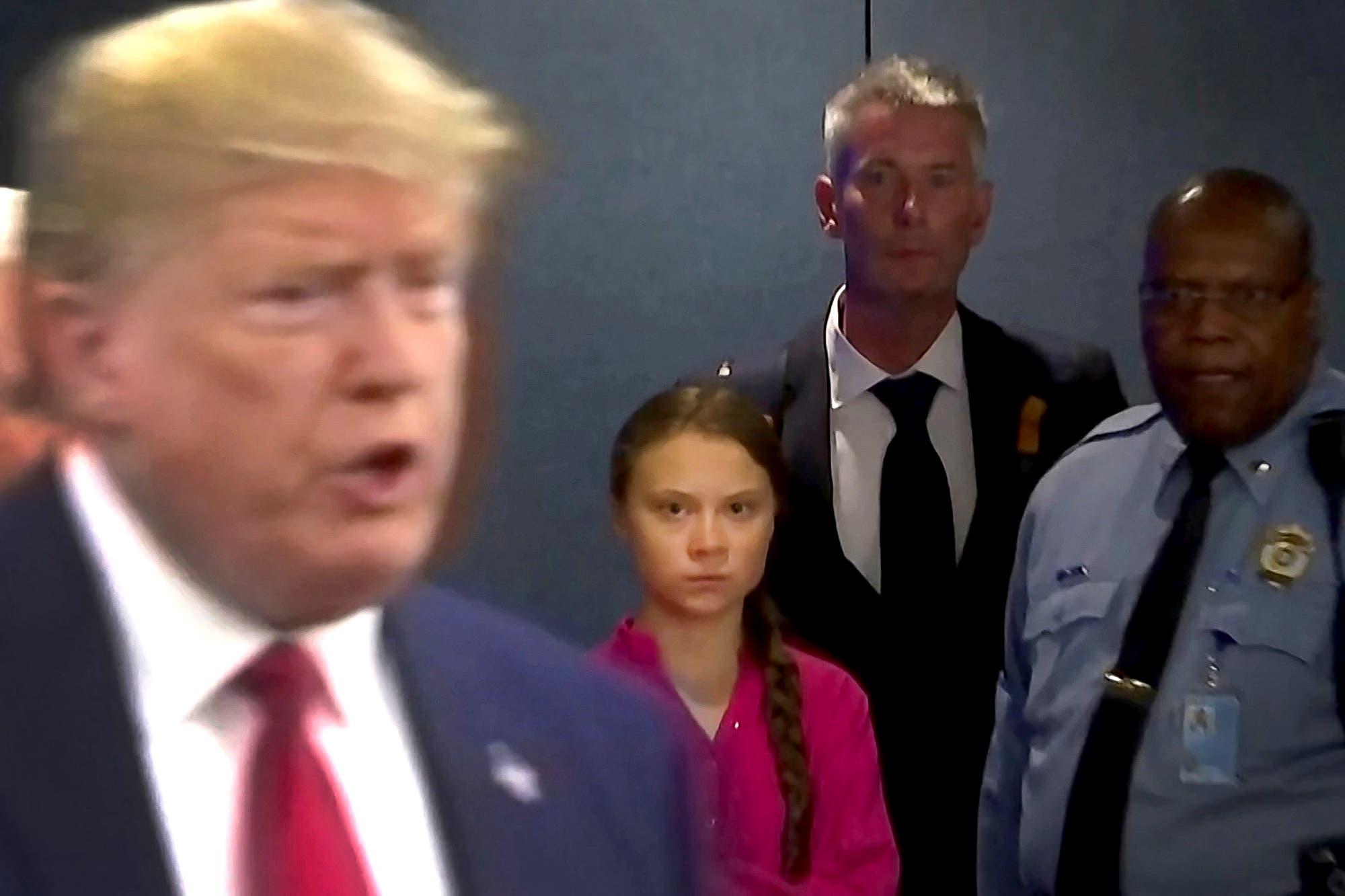 """El llamado urgente de Greta Thunberg por las elecciones en Estados Unidos: """"Hagan que todos voten por Biden"""""""