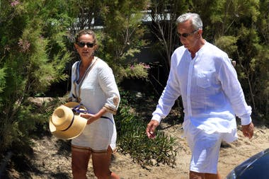 Jorge Neuss envió dos mensaje con saludos de cumpleaños 22 minutos antes de asesinar a su esposa, Silvia Saravia