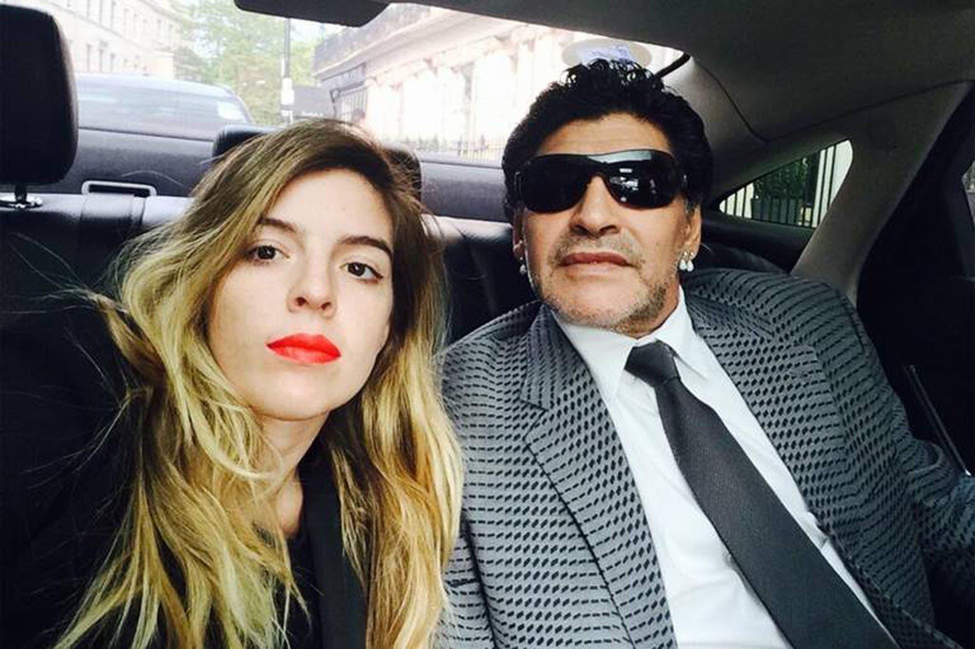 Dalma Maradona compartió un emotivo video de su hija con un recuerdo de Diego