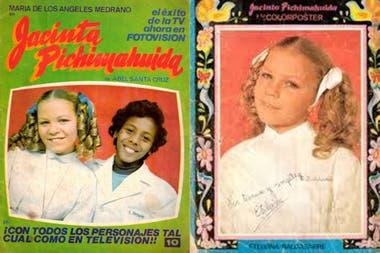 En 1974, Cimer había interpretado a Etelvina Baldasarre, la malvada alumna rica de Jacinta Pichimahuida