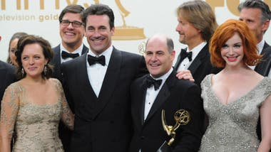 Mad Men y su elenco,  premiado