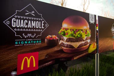 Calorias hamburguesa guacamole mcdonalds
