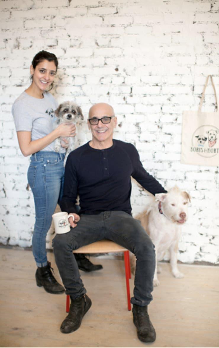 Fue creado por Coppy Holzman y su hija Logan Mikhly, dueños de los perros Boris y Horton. Foto: @realhappydogs