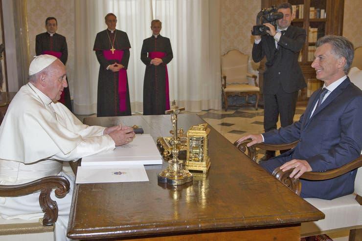 El Papa recibió a Macri en el Vaticano en dos oportunidades: en febrero y en octubre de 2016