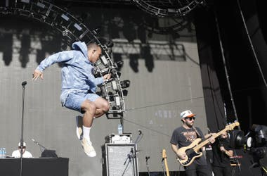Anderson Paak & The Free Nationals, una de las perlas del día 1