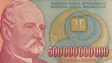Las guerras dispararon la hiperinflación en la ex-Yugoslavia.