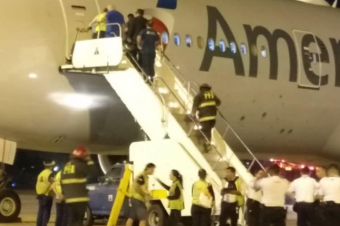 Ni los tripulantes ni los pasajeros sufrieron lesiones