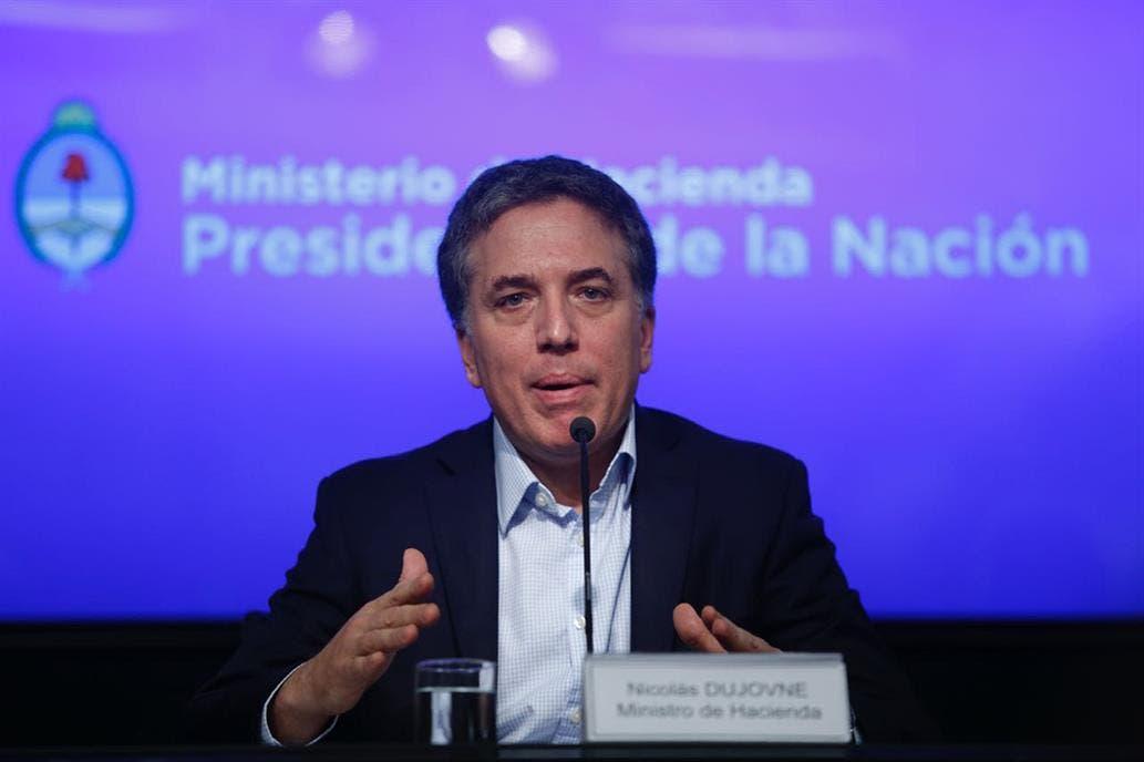 Nicolás Dujovne dará una conferencia de prensa mañana por la mañana