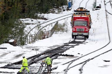 Un feroz temporal de nieve azota gran parte de EE.UU