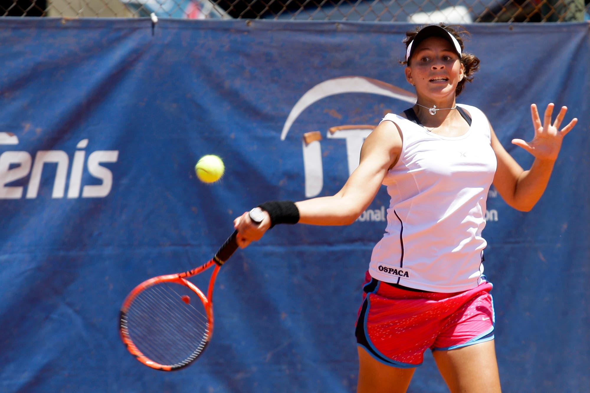 La tenista que estuvo tres meses sin caminar y siete años después debutará en el equipo argentino de Fed Cup