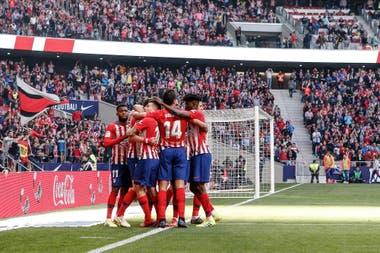 Atlético de Madrid ganó por la mínima diferencia