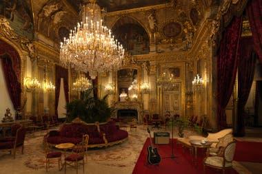 En una de las salas de Napoleón III verán un concierto