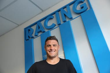 Iván Pillud, un referente en la defensa del Racing Campeón